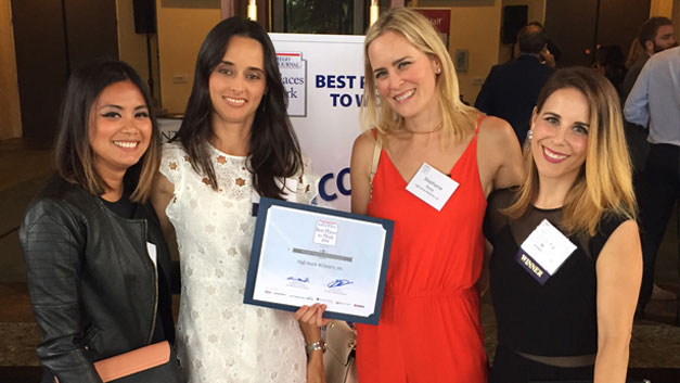"WE'RE A SAN DIEGO'S ""BEST PLACES TO WORK"" AWARD WINNER"